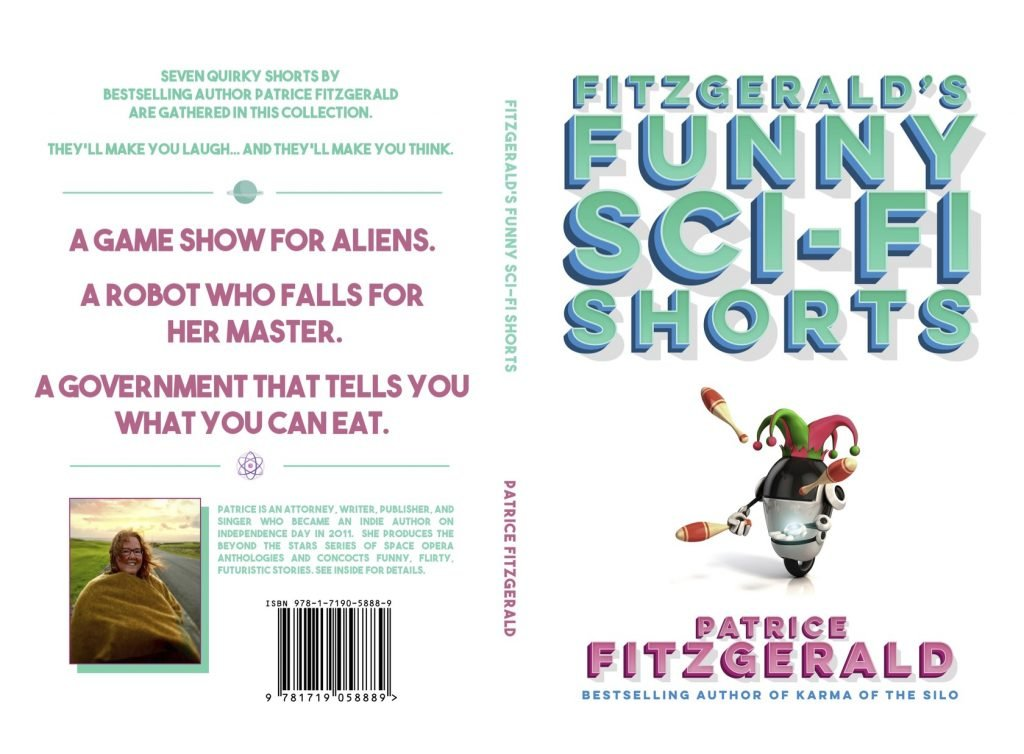 Cover of Fitzgerald's Funny Sci-Fi Shorts